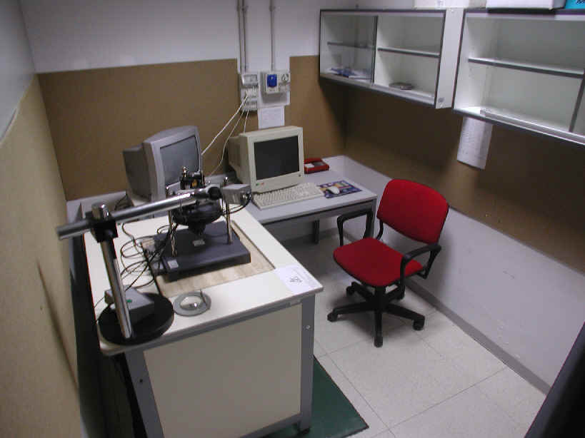 Stylus Probe Microscope room
